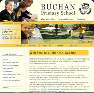 Buchan Primary School Website