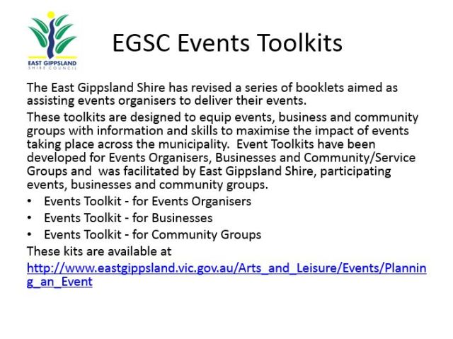 Events Tool Kits