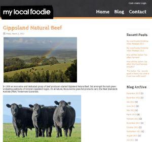 Gippsland Natural Beef